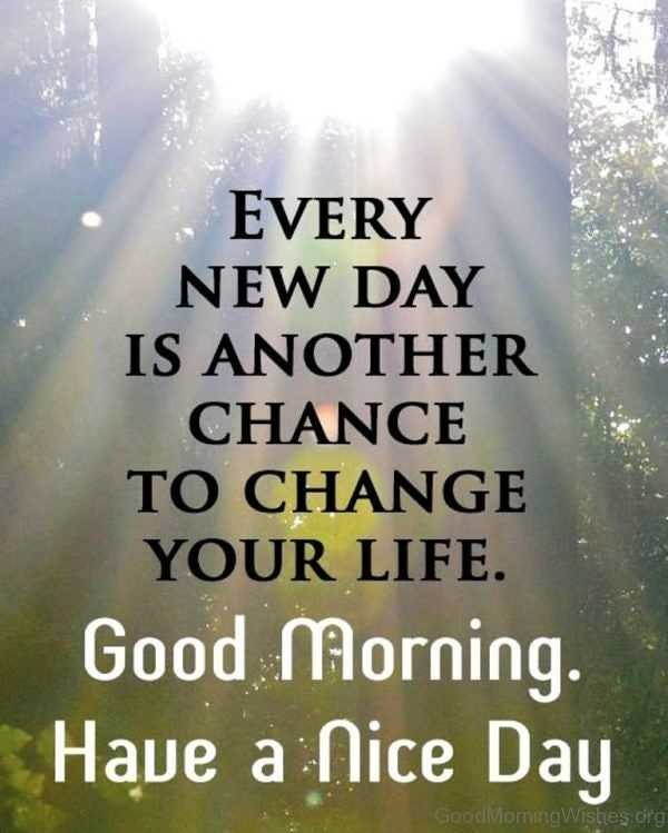 good mornig - EVERY NEW DAY IS ANOTHER CHANCE TO CHANGE YOUR LIFE . Good Morning . Have a Nice Day Good Moming Wishes org - ShareChat