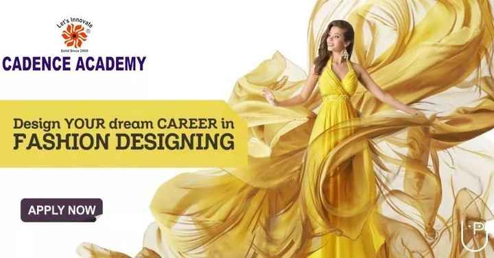 28 जुलाई की न्यूज़ - Solid Since 2000 CADENCE ACADEMY Design YOUR dream CAREER in FASHION DESIGNING APPLY NOW - ShareChat