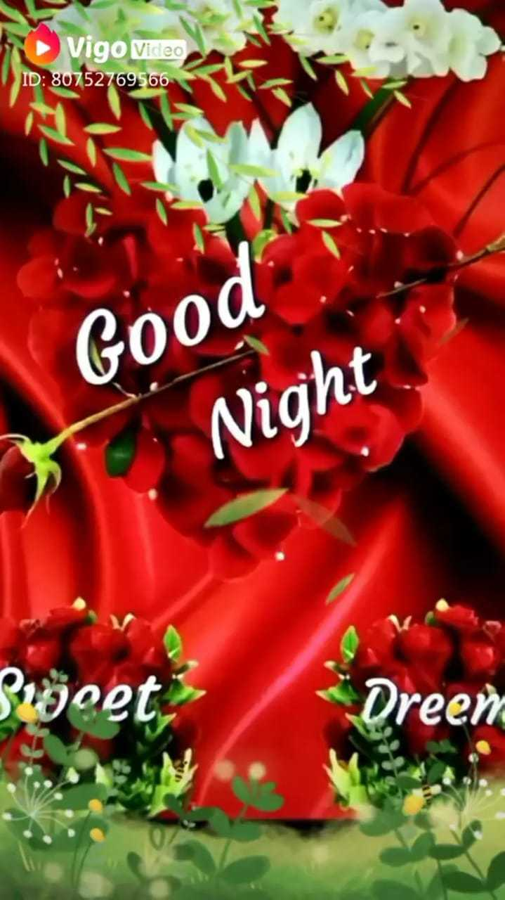 🌙शुभरात्रि - Video ID : 80752769566 Good Night Suvoet Dreen - ShareChat