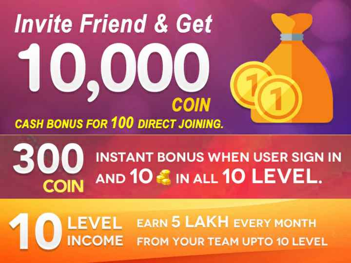 😄2018 च्या गोड-कडू आठवणी - Invite Friend & Get 10 , 000 COIN CASH BONUS FOR 100 DIRECT JOINING . INSTANT BONUS WHEN USER SIGN IN COIN AND 10 IN ALL 10 LEVEL . LEVEL EARN 5 LAKH EVERY MONTH INCOME FROM YOUR TEAM UPTO 10 LEVEL - ShareChat