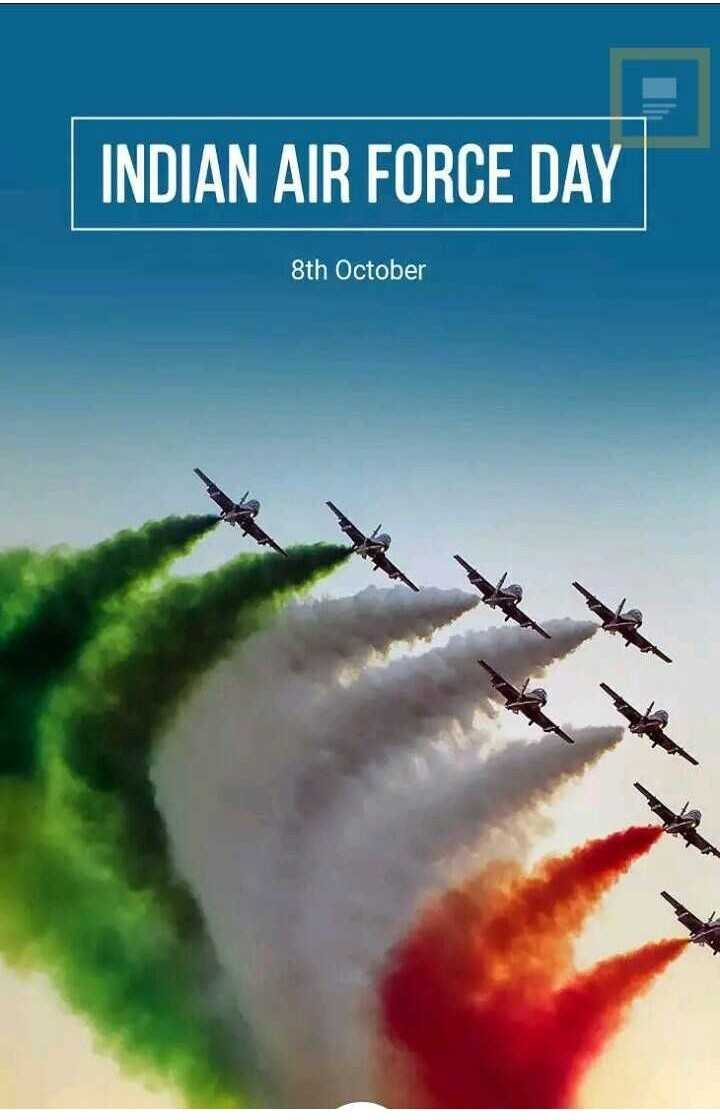 Indian Airforce Day . - INDIAN AIR FORCE DAY 8th October - ShareChat