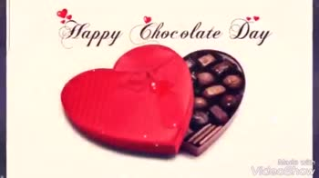 🍫Happy chocolate day - I Love you appunuculabay ! Made with VideoShow It ' s Chocolate Day ! Wishall sweetness of life makes your day chocolaty . . . Happy chocolate Dayl ? Made with VideoShow - ShareChat