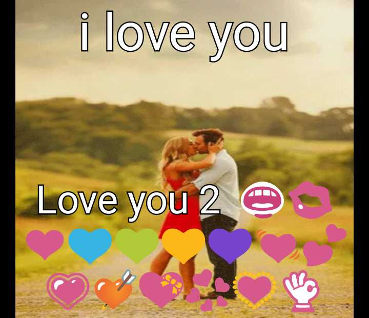 happy new year wishes 2019 - i love you Love you 2 O - ShareChat