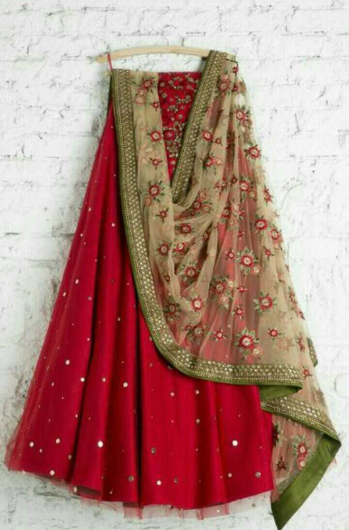 💕lehnga collection 💕💕 - ShareChat