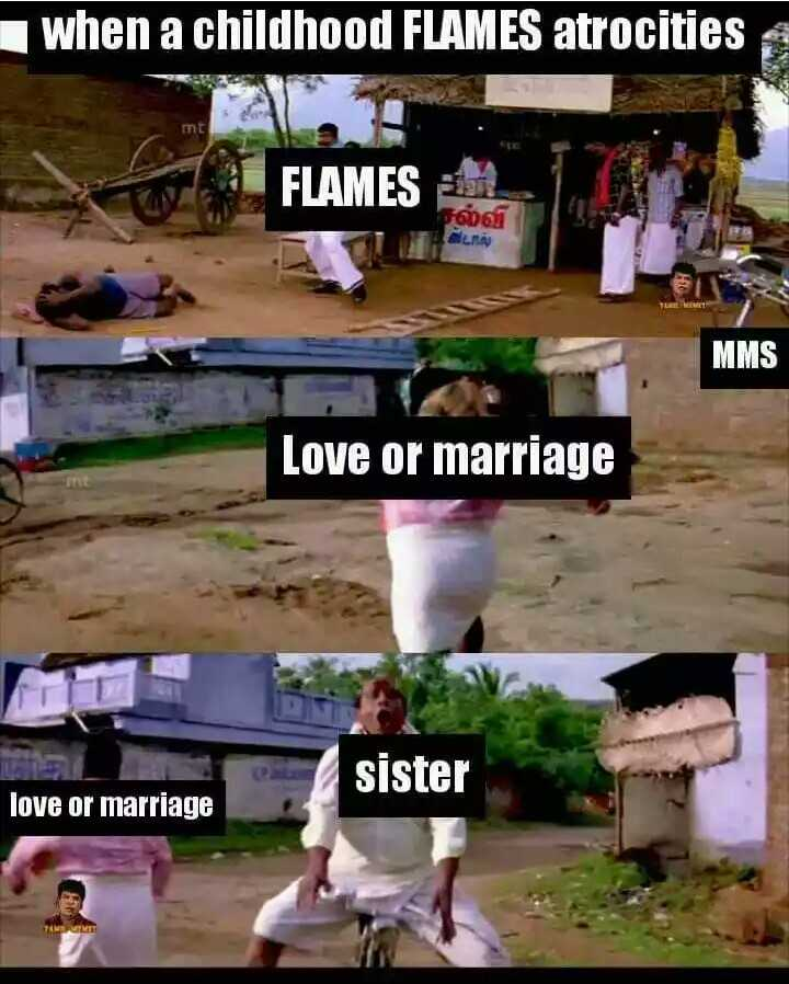 school days memories - when a childhood FLAMES atrocities FLAMES கல்வி MMS Love or marriage sister love or marriage - ShareChat
