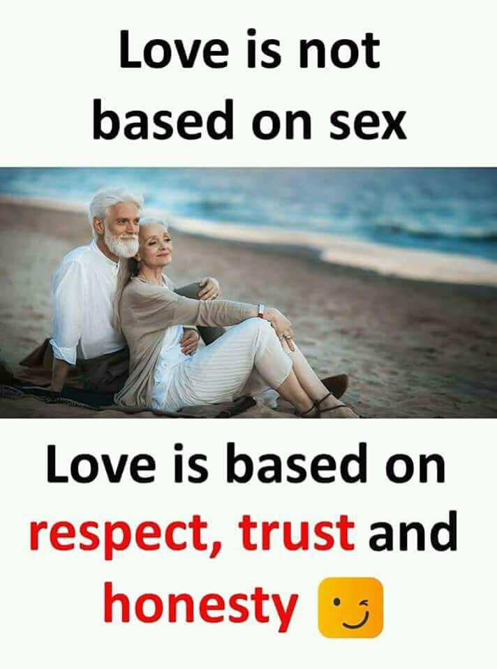 ketta payan - Love is not based on Love is based on respect , trust and honesty - ShareChat