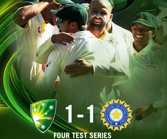 🏏Aus vs Ind 5 Day - 1 - 1 0 FOUR TEST SERIES - ShareChat