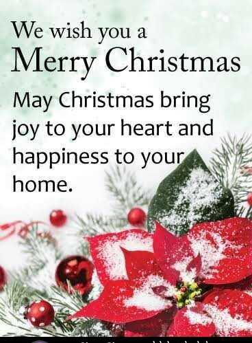 Merry Christmas - We wish you a Merry Christmas May Christmas bring joy to your heart and happiness to your home . - ShareChat