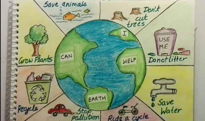 World's First - Save animals MA Don ' t cut trees , USE IME CAN row Plants HELP Donotlitter Ob Stop . pollution EARTH o Save Ride a cucle \ Water Ride a cycle - ShareChat