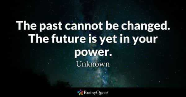 my creations - The past cannot be changed. future is yet in your power. Unknown Brainy Quote - ShareChat