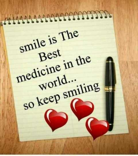 new adda - smile is The Best medicine in the world . . . so keep smiling - ShareChat