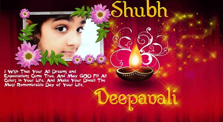 happy diwali - Shubh 1 Wish That Your All Dreams and Expectations Come True , And May GOD Fill Al Colors in Your Life , And Make Your Diwali The Most Remembrable Day of Your Life , Deepavali - ShareChat