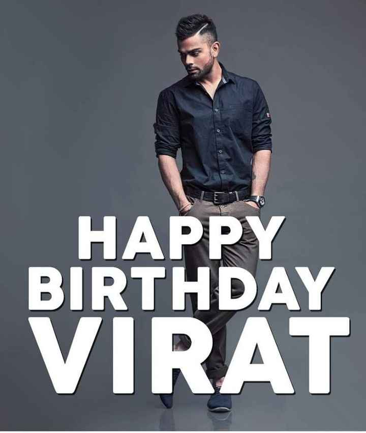 Happy Birthday Virat Kohli 🎂 - HAPPY BIRTHDAY VIRAT - ShareChat