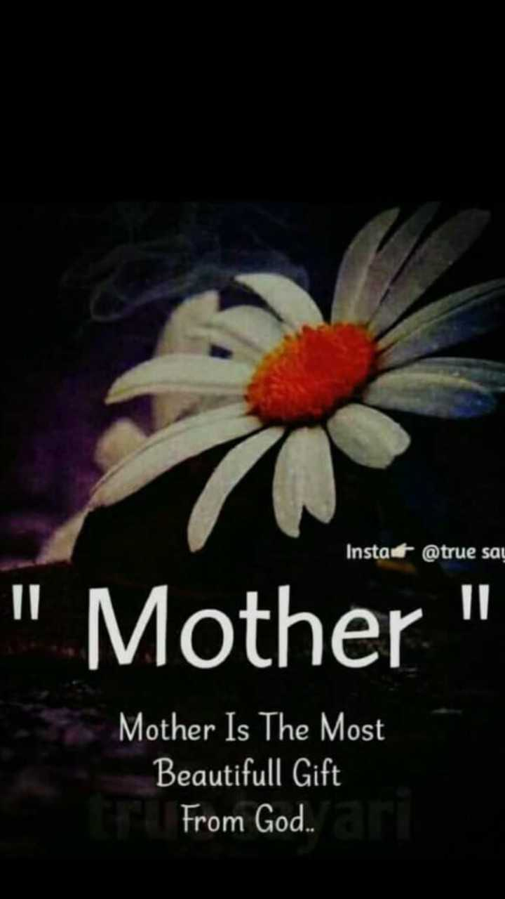 Meri Maa - Insta @ true say Mother Mother Is The Most Beautifull Gift From God . . - ShareChat