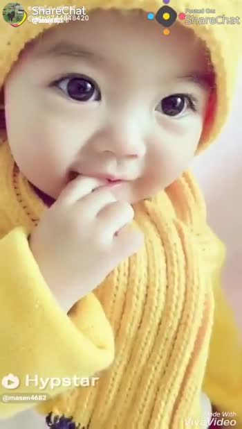 cute babies - ShareChat @ win744848420 Posted on Sharechat Hypstar @ masen4682 Viade With Viva Video Posted One * Sharechat 744848420 Sharechat Hypstar @ mosen4682 wade With livaVideo - ShareChat
