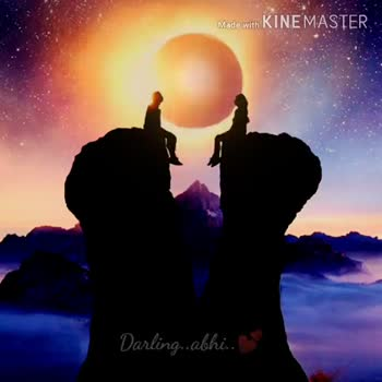 # love failure - Made with KINEMASTER Darling . abhi . . Made with KINEMASTER Darling . . abhina - ShareChat