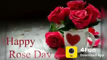 rose day - Happy rose day A Fun Download App YaPPY ROSE DAY 4Fun Download App - ShareChat