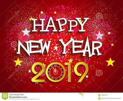 नये साल की पार्टी - HAPPY NEW YEAR 2019 . Download from Dreamstime . com DOND - ShareChat