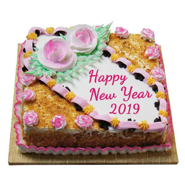 😋new year cake/sweets - Happy New Year 2019 - ShareChat