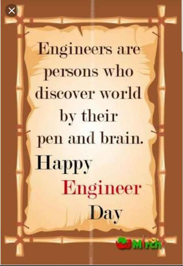 Happy Engineers Day - ShareChat