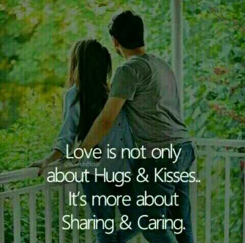 Music lovers - East SEN E2 Love is not only about Hugs & Kisses . . It ' s more about Sharing & Caring . - ShareChat