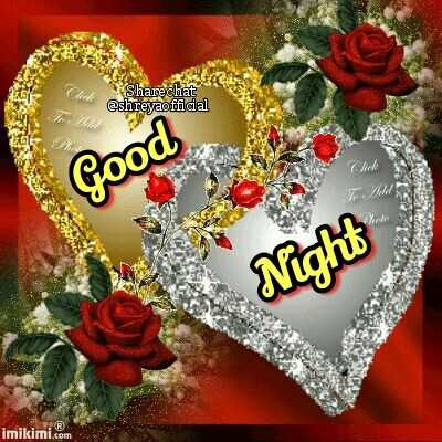 🌙शुभरात्रि - Click Sharechat @ shreyaofficial Chak Good Night imikimi . com  - ShareChat