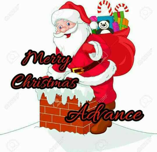 merry christmas advance - ShareChat