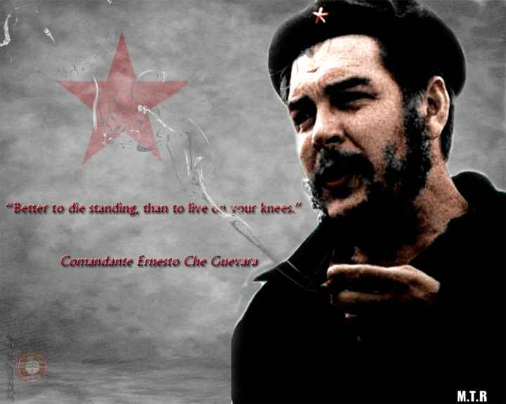 🇮🇳MTR😍மனித இந்திய தமிழன்🇮🇳 - Better to die standing , than to live as your knees . Comandante Emesto Che Guevara M . T . R . - ShareChat