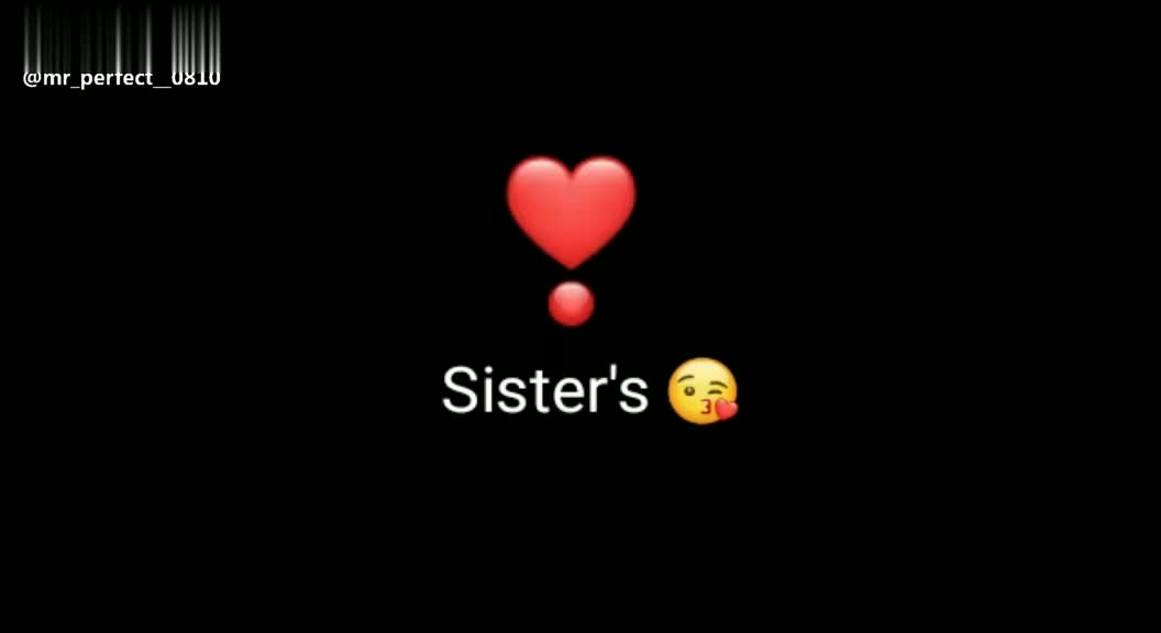 💖love you queen sister 💖 - Sister ' s @ mr _ perfect _ 0810 Sister ' s @ mr _ perfect _ 0810 - ShareChat