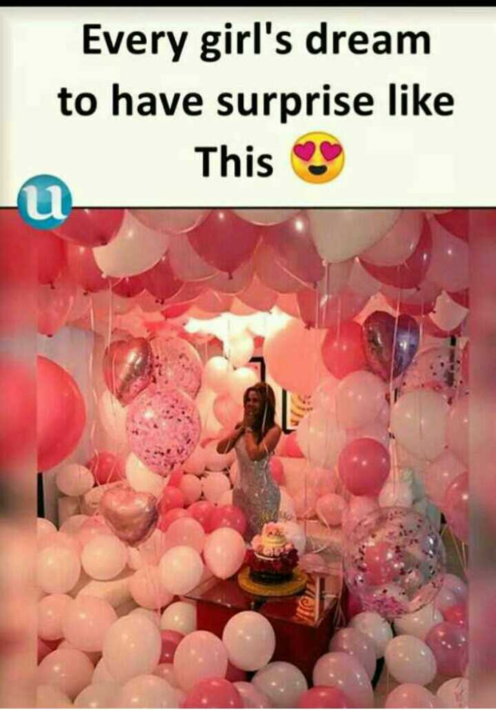 13s - Every girl ' s dream to have surprise like This - ShareChat