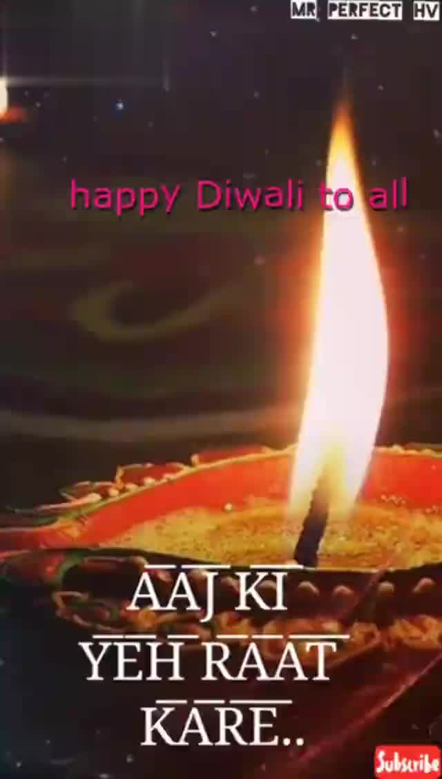 happy diwali - Download from MR PERFECT HV Subscribe Download from MR PERFECT HV Subscribe - ShareChat