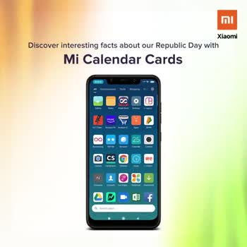 🇮🇳🇮🇳🇮🇳गणतंत्र दिवस की शुभकामनाएँ - וח Xiaomi Discover interesting facts about our Republic Day with Mi Calendar Cards 00 : 01 Republic Day Day celebrations are held in New Delhi at Rajpath before the President of India . On this day . ceremonious parades also take place at the Rajpath showcasing India ' s defence capability , cultural and social heritage Date 26 / 01 / 2017 Celebrations in school speeches and cultural dances Ceremonious parades , distribution of sweets All you need to know Happy Republic Day The Significance of the Indian Reble Day Parades of India Paradies and celebronson Repobic Dayol Best Buys of this Season Th e Purch during Republic Day for youth Trending Wallpapers Here are some for you ingrepublic day loopers Ringtones Search repobladaryngoch וח Xiaomi Discover interesting facts about our Republic Day with Mi Calendar Cards 00 : 01 υταμτιιαυγαεινιαιει νειιιεο οι ειεμιιαιιο . credit : third party image reference Every year , the Indian government invites foreign dignitaries as chief guests for the Republic Day Celebration . Prime Minister Nguyễn Xuân Phúc of Vietnam was 2018 ' s chief guest . This year , we will see President Cyril Ramaphosa of South Africa grace the occasion . credit : third party image reference O - ShareChat