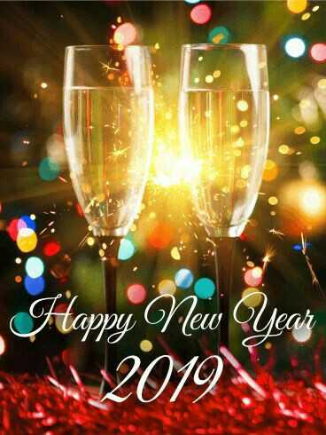 happy new year 2019 - Year W 2019 , - ShareChat