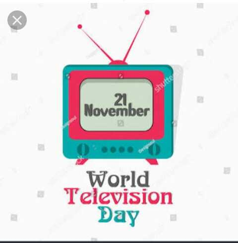 বিশ্ব টেলিভশন দিবস - 2 . November World Television Day - ShareChat