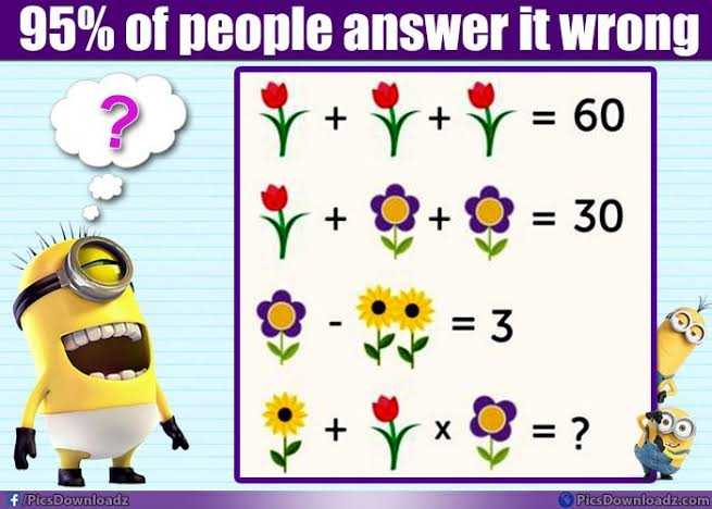 Reasoning - + 95 % of people answer it wrong r + y + y = 60 Y + 0 + = 30 + 3 DO f / Pics Downloadz Pics Downloadz . com - ShareChat