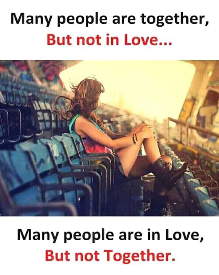 it's me 😎 - Many people are together , But not in Love . . . Many people are in Love , But not Together . - ShareChat