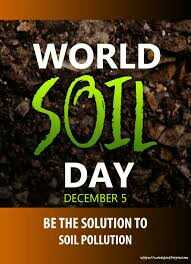 World Soil Day - WORLD DAY DECEMBER 5 BE THE SOLUTION TO SOIL POLLUTION - ShareChat