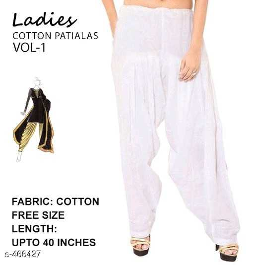 women's fashion - Ladies COTTON PATIALAS VOL - 1 FABRIC : COTTON FREE SIZE LENGTH : UPTO 40 INCHES 5 - 466427 - ShareChat