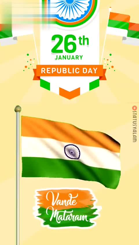 India - Download from JANUARY REPUBLIC DAY STATUSYALAM E Vande Mataram Download from JANUARY REPUBLIC DAY STATUSYALAM Vande - Mataram - ShareChat