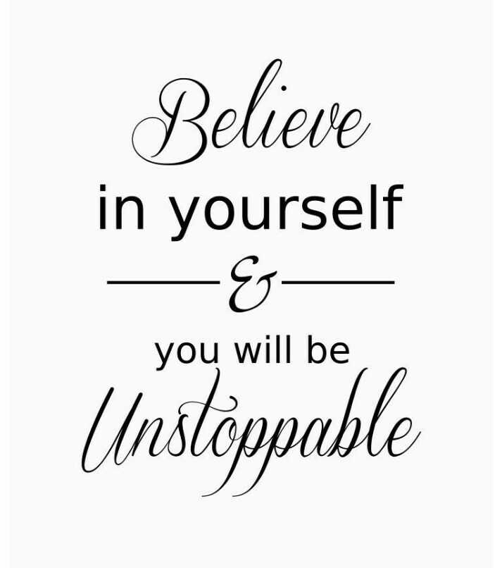 வாழ்க்கை 🌿🌿🌿 - Believe in yourself - G Unstoppable you will be - ShareChat