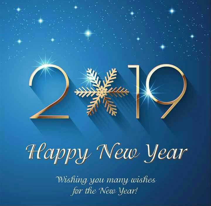 🎉Happy New Year - Happy New Year Wishing you many wishes for the New Year ! - ShareChat