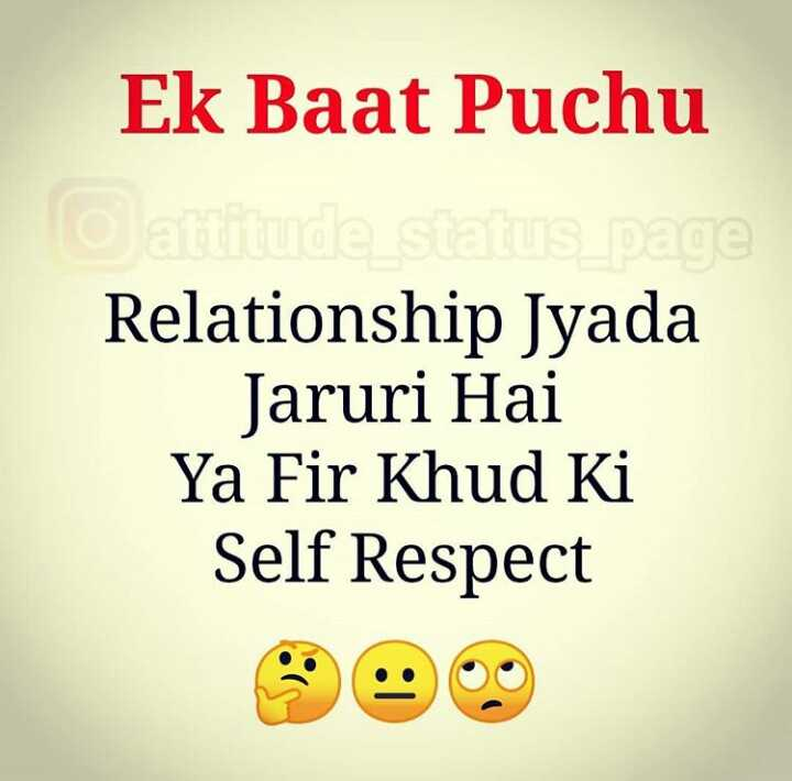 Best of Self Respect Status For Whatsapp - hindi quotes