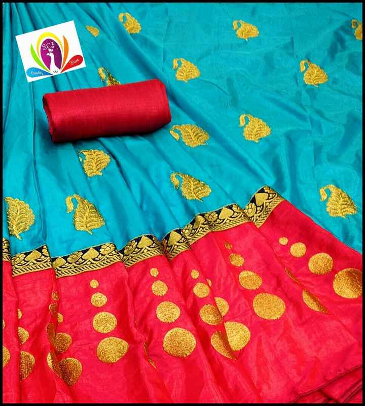 saree😍 - SCF Trust Quality - ShareChat