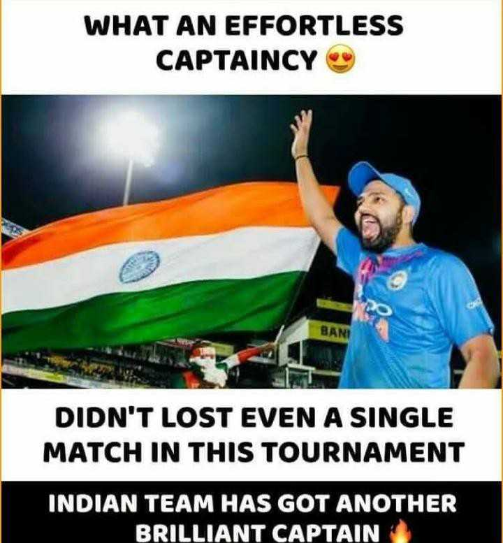 ಭಾರತಕ್ಕೆ 7ನೇ ಏಷ್ಯಾಕಪ್🏆 - WHAT AN EFFORTLESS CAPTAINCY BANI DIDN ' T LOST EVEN A SINGLE MATCH IN THIS TOURNAMENT INDIAN TEAM HAS GOT ANOTHER BRILLIANT CAPTAIN - ShareChat