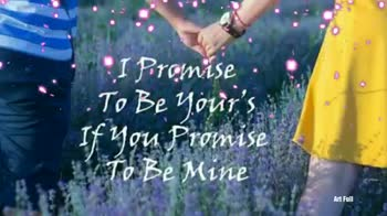🤞प्रॉमिस डे - Happy Promise saya Art Full Troinise Day An Full - ShareChat