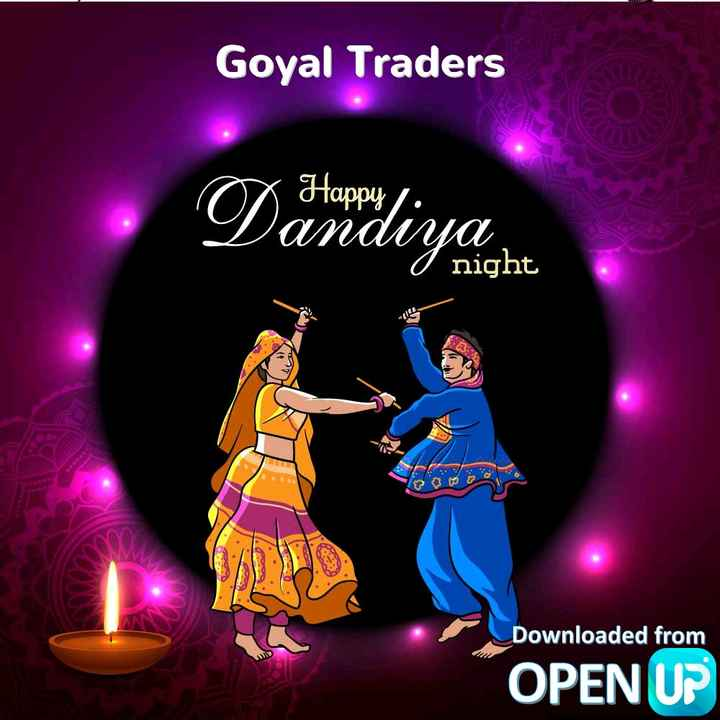 🙏जय माता दी🙏 - Goyal Traders X Happy / : . Dandiya O night con lo Downloaded from OPEN UP - ShareChat