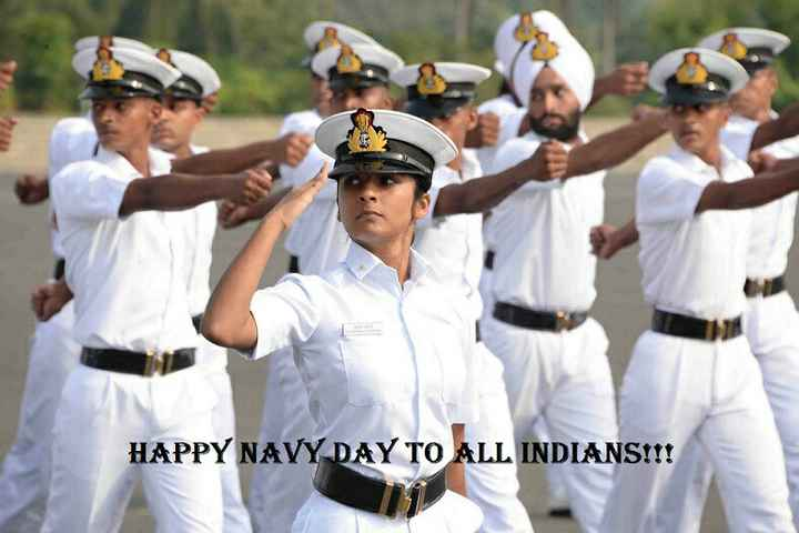 Navy Day - HAPPY NAVY DAY TO ALL INDIANS ! ! ! - ShareChat