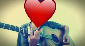 Singing with guitar🎸 - ShareChat