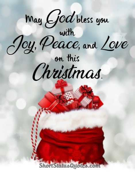 🎅Christmas Song🎅 - with May God bless you Joy , Peace , and Love