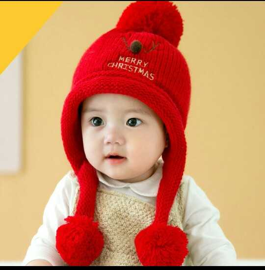 cute baby🤔 - MERRY CHRISTMAS - ShareChat